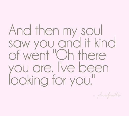 I Love My Soul Mate Quotes